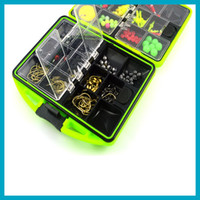 1 piece Swivels JIG HOOKS BOX Portable Assorted Fishing Tack...