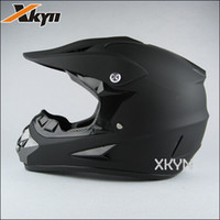 Wholesale The XKYN Pure matt black motorcycle helmet off road helemt dot Motocross helmets gear
