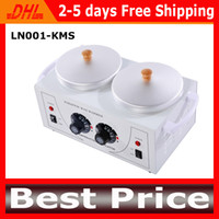 Wholesale The Latest Salon Spa Paraffin Wax Heater With Double Pots For Hair Removal