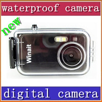 Wholesale HKpost cheap Mega pixels meters waterproof digital camera DC