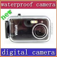 Wholesale HKpost cheap Mega pixels meters waterproof digital camera DC