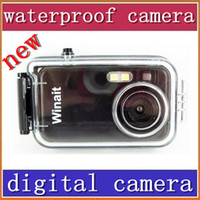 Wholesale 20pcs cheap Mega pixels meters waterproof digital camera DC
