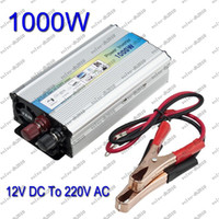 Wholesale 1000W Car auto Truck USB DC V to AC V Power Inverter Adapter Converter LED LLY229