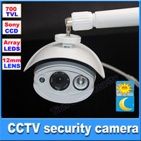 Outdoor CCD  Home security camera HD Sony CCD 700TVL Array IR LED waterproof outdoor camera 12mm lens with OSD CCTV camera