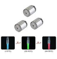 Wholesale Hot New LED faucet light color temperature sensitive faucet light Three color mini Tap