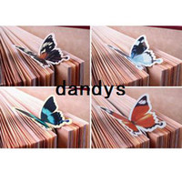 Wholesale Hot selling stationery cartoon butterfly bookmark exquisite animal bookmark