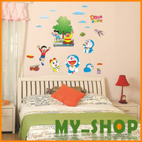 Wholesale Dora A dream dress flat wall stickers children s room nursery school three generations of Wall Stickers Wall Stickers