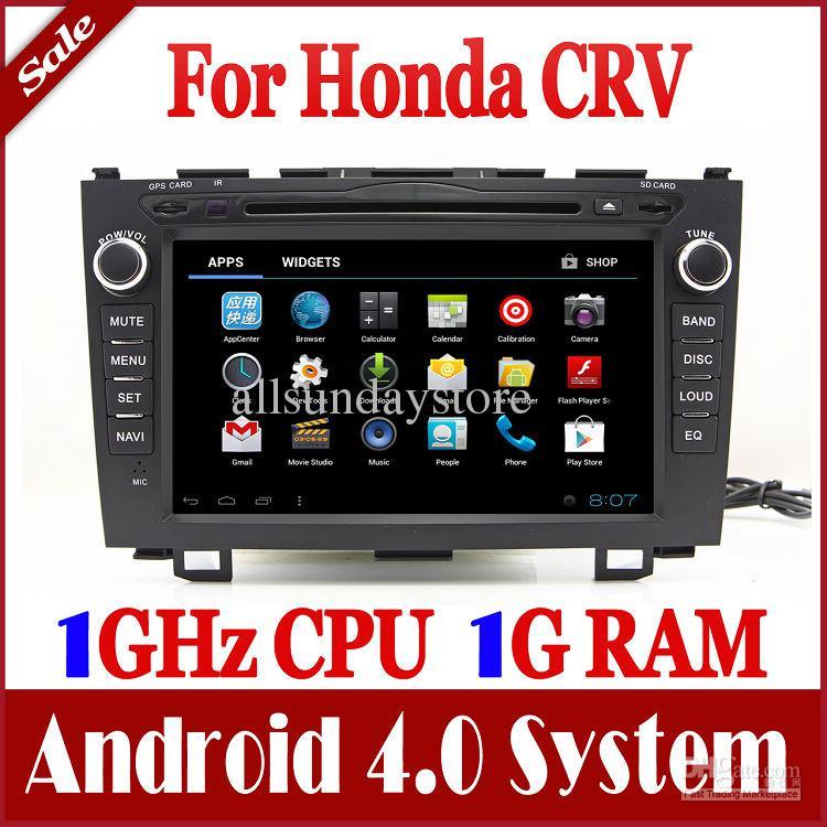 Android 4 4 Car Dvd Player For Honda Crv Cr V 2006 2011