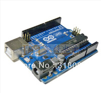 Wholesale latest For Arduino UNO R3 development board version ATMEGA16U2 the official version free usb cable