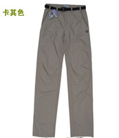 Wholesale CPA New Arrival Salomon men outdoor light breathable quick drying trousers climbing pants Size S M L