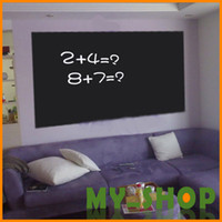 Wholesale 60 cm m blackboard stickers nursery teaching household children s room wall stickers wallpaper wall hangings