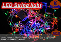 china christmas - LED String light Modes Display LED m led String Light for Holiday Party led christmas light AC110 V China post Free