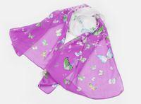 Wholesale 20 Brisk Butterfly Pattern Scarves Chiffon Printed Scarfs Colors CM Chiffon scarves