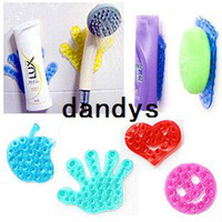 Wholesale 10pcs New Strong Double Sided Suction Palm PVC Suction Cup Double Magic Plastic Sucker Bathroom