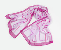 Wholesale Fashion scarf shawl Squares pattern Chiffon Printed Scarfs Colors CM