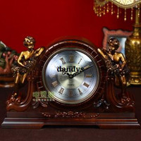 Mechanical Desk Clocks Quartz,Digital Free Shipping, Resin pendulum clock fashion vintage clock silent movement z305