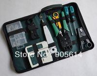 Wholesale RJ45 RJ11 RJ12 CAT5 LAN Network Tool Kit Cable Tester Crimp Crimper Plug Pliers