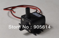 Wholesale Mini DC V M L MIN Mini DC Brushless Motor Submersible Water oil Acid Pump Fountain Aquarium Water Circulating