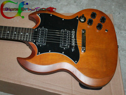Wholesale Best Newest Custom Brown SG Electric Guitar Very Beauty Musical instruments
