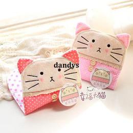 Wholesale Cat sugar cat girls portable storage bag sanitary napkin bag plush sanitary napkin storage bag