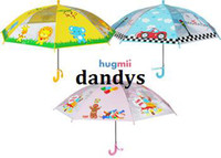Wholesale New arrival hugmii cartoon fashion child umbrella baby umbrella three color