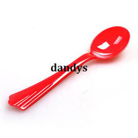Wholesale Cotton candy machine red measuring spoon