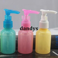 Wholesale Travel kit sub bottling cream shampoo duck bottle plastic cosmetic bottles watering can lotion bottle ml