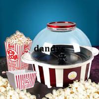 Hot Air Popcorn Maker machine oil machine - Big large capacity popcorn popper machine sugar oil