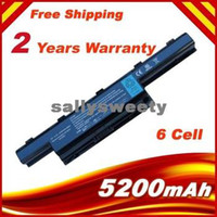 Wholesale 6 cells Laptop battery For Acer AS10D31 AS10D61 AS10D71 AS10D51 Travelmate Z G ZG
