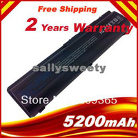 Wholesale 5200mAh Battery for HP Pavilion DV4 DV5 DV6 battery HSTNN IB72 HSTNN LB72 HSTNN LB73