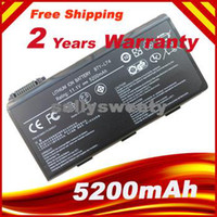 battery for msi - Special Price New mah laptop battery For MSI A5000 A6000 A6200 A6203 A6205 A7200 Replace BTY L74 BTY L75