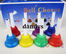 Wholesale Orff instruments eight sound clock child music equipment bell musical instrument rattles set