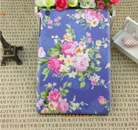 For Apple For Ipad Mini ABS new floral flower design case cover skin shell for iPad mini 7.9 inch floral matt fashion cheap case