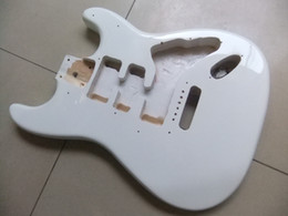 New arrival STR mode guitar body in white 130615-25
