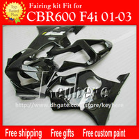 Free 7 gifts Custom race fairing kit for Honda CBR600 2001 2...