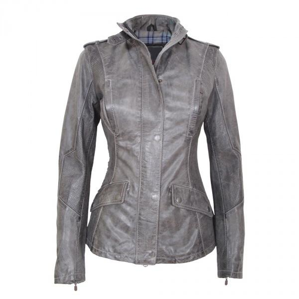Designer Women Leather Jacket Slim Waist Concise Casual Jacket ...