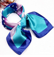 Wholesale Work square scarves selling classic case grain puzzle square scarf quality fast delivery