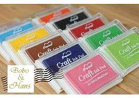 Wholesale New Nice color big craft Ink pad Stamp inkpad set for DIY funny work