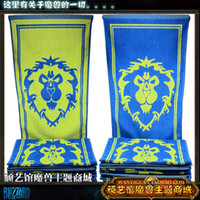 M World of Warcraft world of products - World of Warcraft Alliance peripheral products promotional logo emblem wow sided cotton face towel
