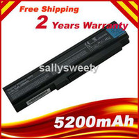 Wholesale Laptop battery for Toshiba Satellite U300 battery PA3593U BAS PA3594U BRS PABAS111 PA3593U BRS PA3595U PA3595
