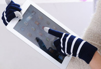 Wholesale Christmas gift Touch Screen Multi Touch Glove Warm Fashion Winter Glove pair Pair free DHL