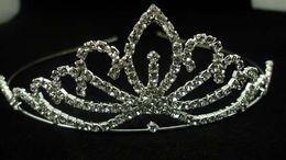 Christmas 2013 high quality synthetic diamond wedding bridal tiara hair accessories lightning shipping