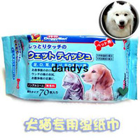 Wholesale Pet wet wipe smoke pet wet wipe paper dog cat cleaning and disinfection wet tissue