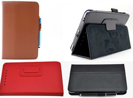 10pcs lot 7inch flip PU Leather Case TABLET case for Google Nexus 7 for 7 Inch Tablet