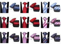 Wholesale Men s Neck Tie Gift Box Set color JACQUARD WOVEN Silk