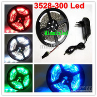 Wholesale 5M LED Strip Light Flexible LED Strip Light Waterproof LED Strip Light V A