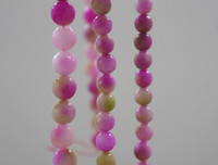 Wholesale Brand New mm mm Natural Multicolour Jade Faceted Round Loose Beads inch
