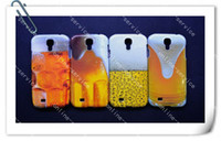 Wholesale 2013 Summer Hot A Cup Of Beer Hard Plastic Case Skin Cases For For Samsung Galaxy S4 I9500