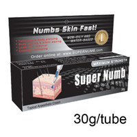 Best High Quality 30g Super Numb Anaesthetic Cream For Tattoo Gun Needle Ink Cups Grips Kits free shipping by express