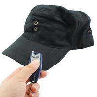 Wholesale 4G Spy Hat DVR Hidden Pinhole Video Camera With Remote